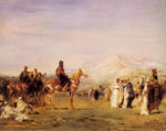Fromentin, Eugene Arab Encampment in the Atlas Mountains, 1872 Art Reproductions
