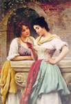 Blaas, Eugene de Shared Correspondance, 1899 Art Reproductions