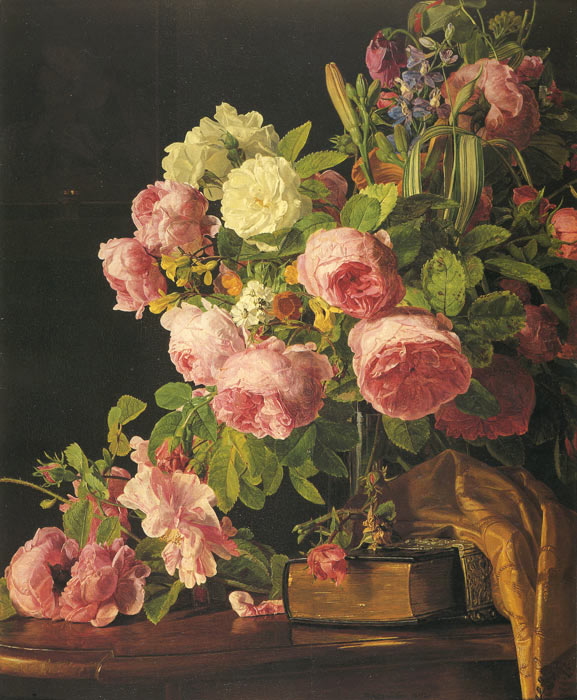 Roses, 1842  Painting Reproductions