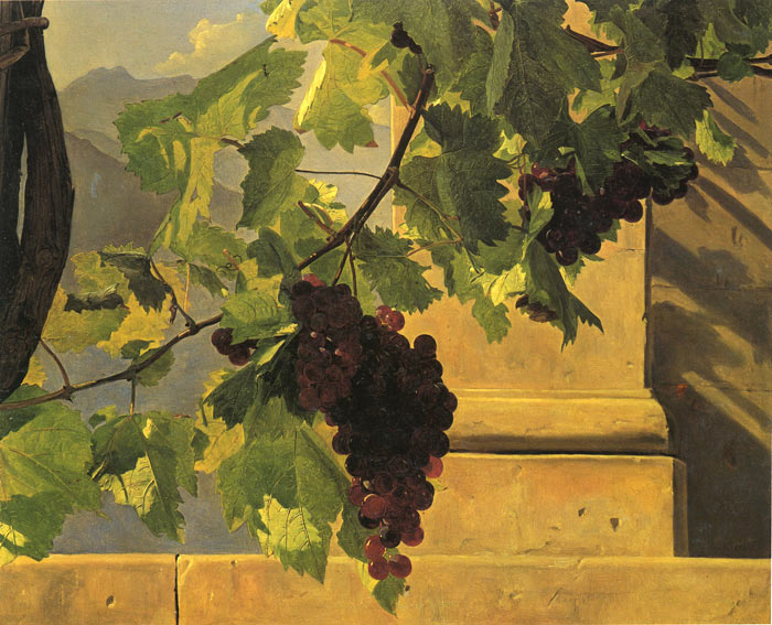 Grapes, 1841  Painting Reproductions