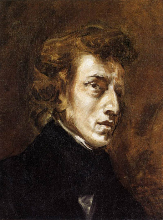 Frederic Chopin, 1838  Painting Reproductions