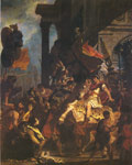 Delacroix, Ferdinand Victor Eugene The Justice of Trajan Art Reproductions