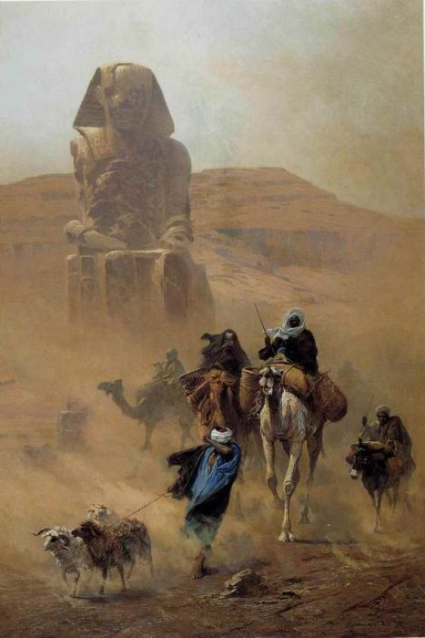 Le Vent du Desert , 1878  Painting Reproductions