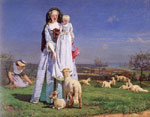 Brown, Ford Madox The Pretty Baa-Lambs, , 1851-1859 Art Reproductions