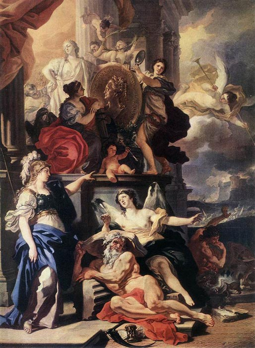 Allegory of Reign, 1690  Painting Reproductions
