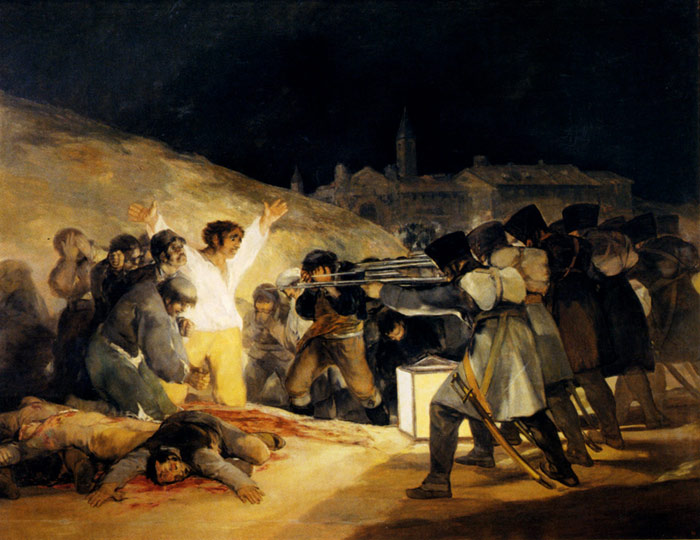 May 3, 1808, 1814  Painting Reproductions