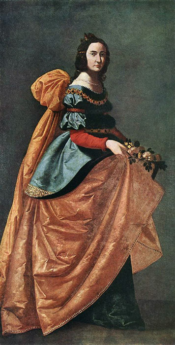 St. Casilda of Burgos, 1638-1642  Painting Reproductions