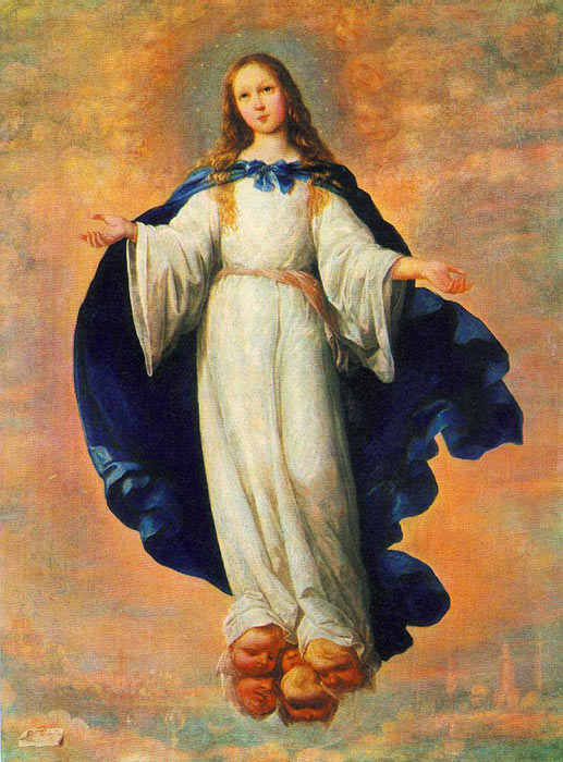 The Immaculate Conception, 1661  Painting Reproductions