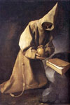 0 Meditation of St Francis, c.1632 Art Reproductions