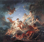 Boucher, Francois Vulcan Presenting Venus with Arms for Aeneas, 1757 Art Reproductions
