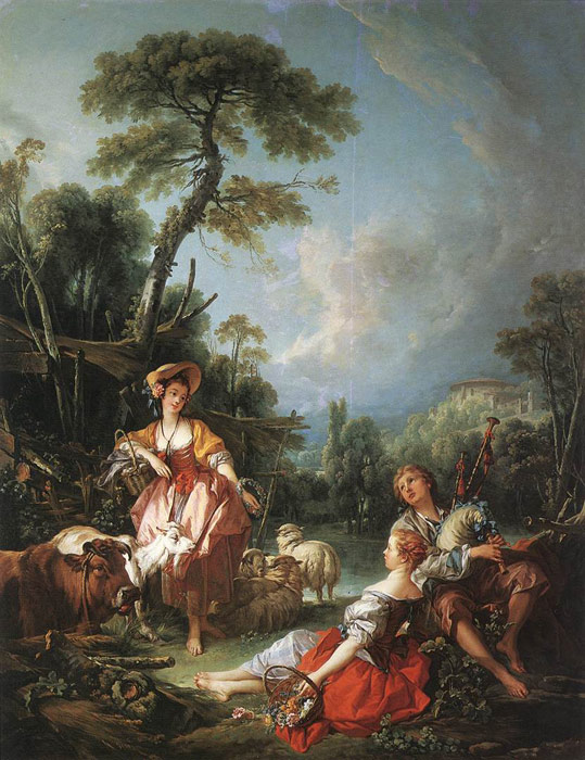 A Summer Pastoral, 1749  Painting Reproductions