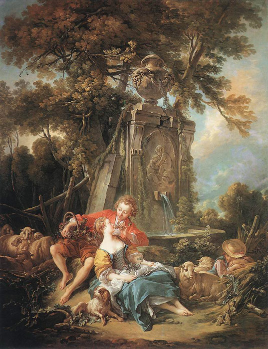 An Autumn Pastoral, 1749  Painting Reproductions