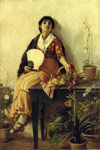 Duveneck, Frank The Florentine Girl, 1887 Art Reproductions