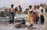 Duveneck, Frank Water Carriers, Venice, 1884 Art Reproductions