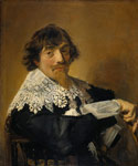 Hals, Frans Portrait of a man, possibly Nicolaes Hasselaer, c.1630-1635 Art Reproductions