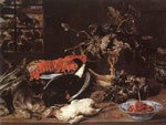 Snyders, Frans Still-life with Crab and Fruit Art Reproductions