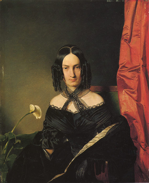 Frau Nadassy, 1839  Painting Reproductions