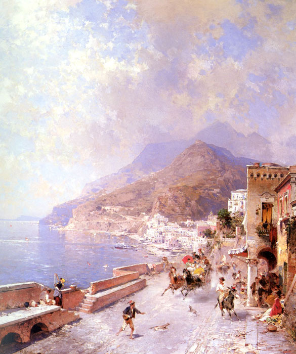 Amalfi  Painting Reproductions