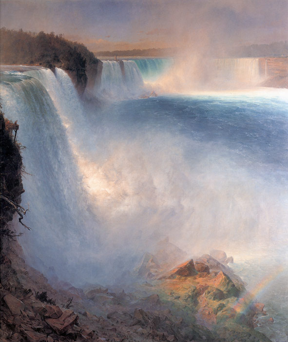 Niagara Falls, from the American Side  Painting Reproductions