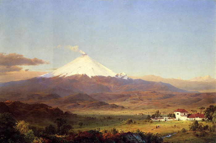Cotopaxi, 1855  Painting Reproductions