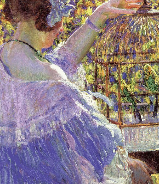 The Bird Cage, 1913  Painting Reproductions