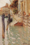 Thaulow, Frits On The Grand Canal, Venice, 1885 Art Reproductions