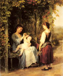 Zuber-Buhler, Fritz Tickling the Baby Art Reproductions