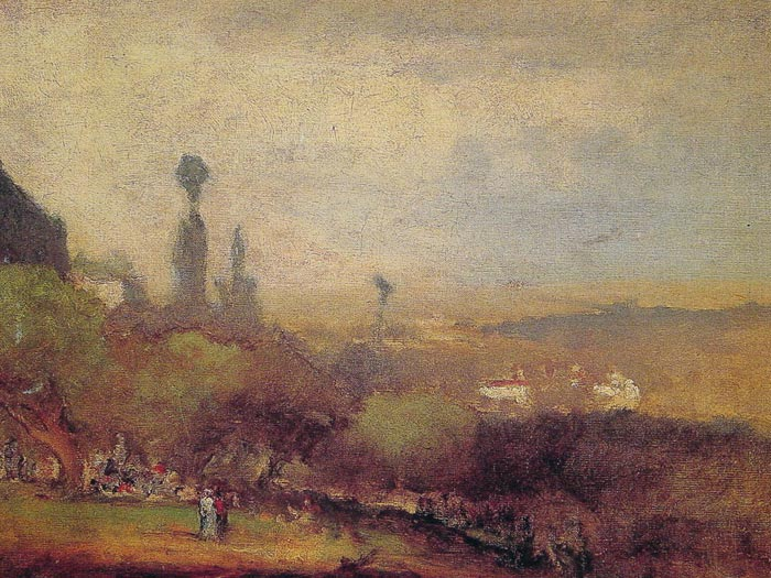 Monte Lucia, Perugia, 1873 Inness, George Painting Reproductions