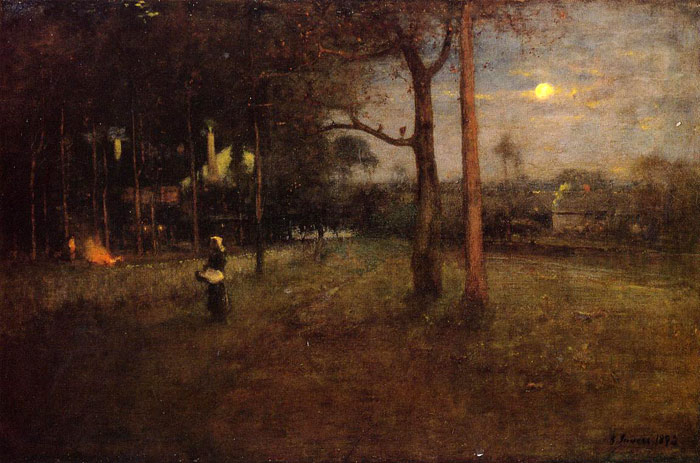 Moonlight, Tarpon Springs, Florida, 1892  Painting Reproductions