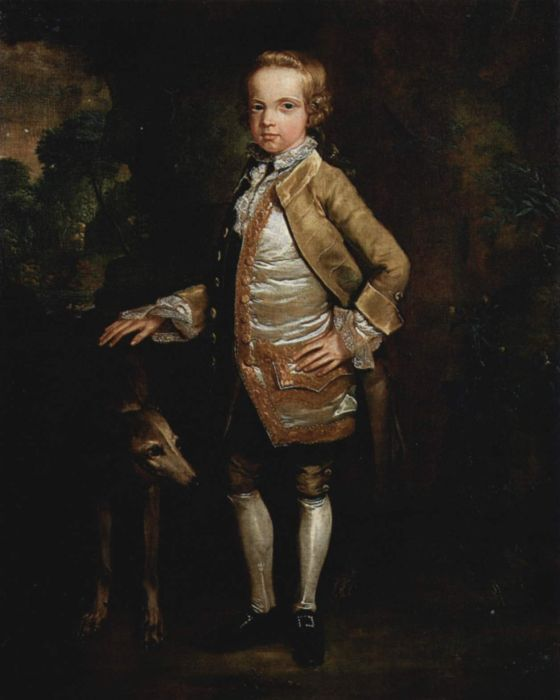 Portrait of John Nelthorpe as a Child, 1765  Painting Reproductions