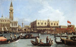 Canaletto, Giovanni Antonio Canal Return of the Bucentoro to the Molo on Ascension Day, 1732 Art Reproductions