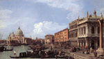 Canaletto, Giovanni Antonio Canal The Molo: Looking West, 1730 Art Reproductions