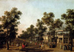 Canaletto, Giovanni Antonio Canal View Of The Grand Walk, vauxhall Gardens, With The Orchestra Pavilion, The Organ House, The Turkish Dining Tent Art Reproductions