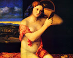 Bellini, Giovanni Young Woman at her Toilet , 1515 Art Reproductions