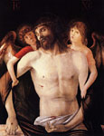 Bellini, Giovanni The Dead Christ Supported by Two Angels Art Reproductions