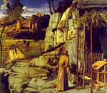 Bellini, Giovanni St Francis in the Desert, 1480 Art Reproductions