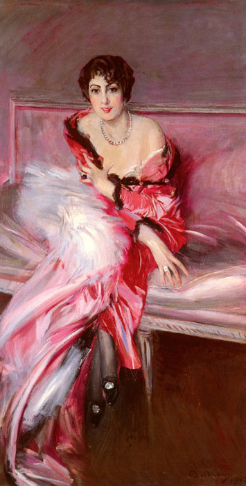 Portrait Of Madame Juillard In Red, 1912  Painting Reproductions