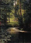 Myasoedov, Grigory Grigorevich Forest River, Spring. 1890 Art Reproductions