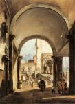 Guardi, Francesco An Architectural Caprice, 1777 Art Reproductions