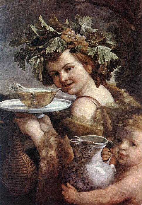 The Boy Bacchus,  1615-1620  Painting Reproductions