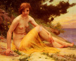 Seignac, Guillaume Nu Sur La Plage [Nude on the Beach] Art Reproductions