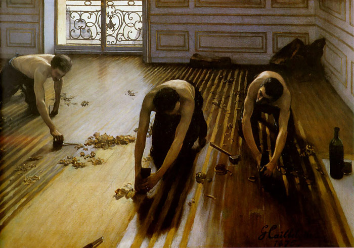 The Floor Scrapers, 1875 Caillebotte, Gustave Painting Reproductions
