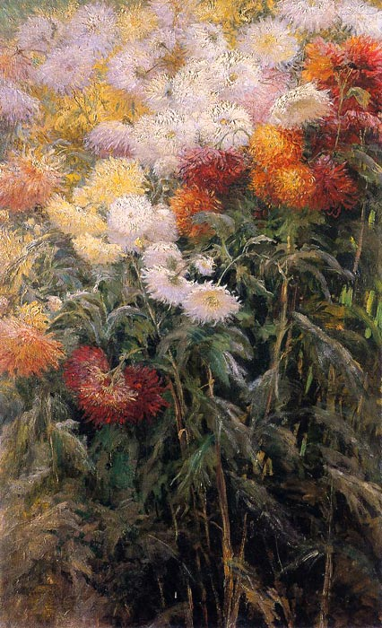Chrysanthemums, Garden at Petit Gennevilliers, 1893  Painting Reproductions