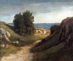 0 Paysage Guyere, c.1874-1876 Art Reproductions