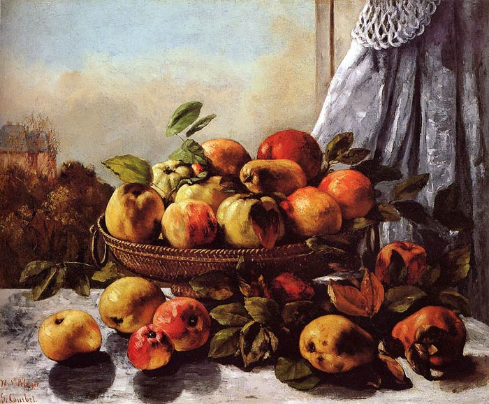Still Life: Fruit, c.1871-1872  Painting Reproductions