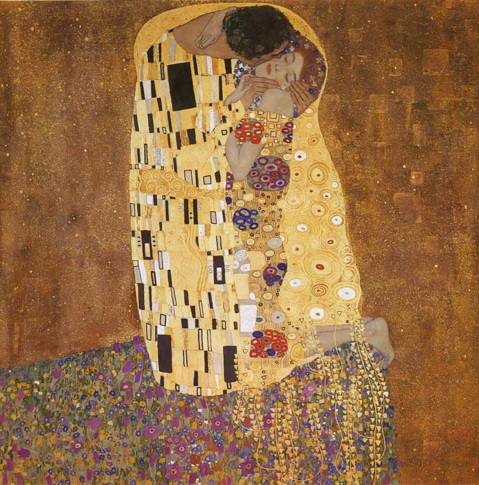 The Kiss, 1907 Klimt, Gustave Painting Reproductions