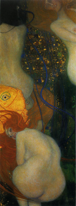 Goldfish, 1901 Klimt, Gustave Painting Reproductions