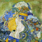 Klimt, Gustave A Baby Art Reproductions