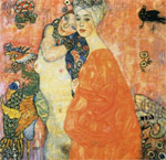 Klimt, Gustave The Friends, 1916 Art Reproductions