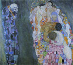 Klimt, Gustave Death and Life, 1911 Art Reproductions